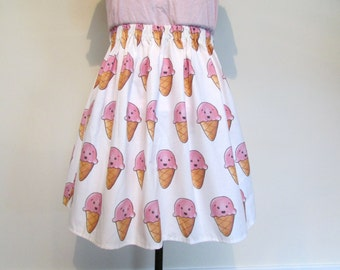 Kawaii Ice Cream Skirt