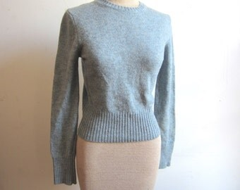 vintage wool sweater / small sweater / united colors of benneton xs s