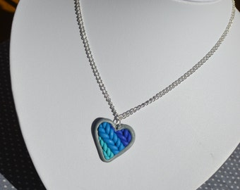 Knitted With Love Necklace
