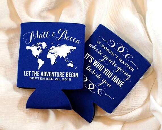 Destination Wedding Favors, Travel Wedding Favor, Personalized Can ...