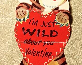 Vintage Tiger Valentine