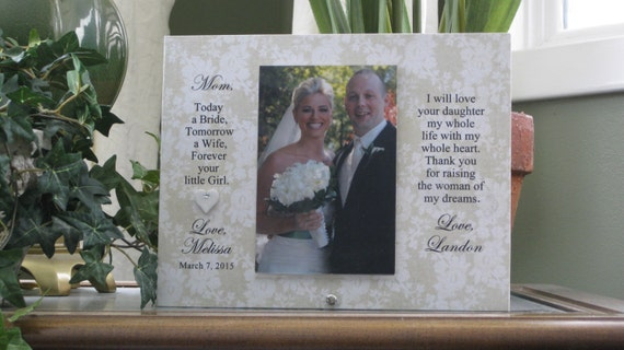 mother daughter gift mother of the bride frame mother daughter frame mother of bride gift 4 x 6 photo choice of sayings and papers from - Mother Of The Bride Picture Frame