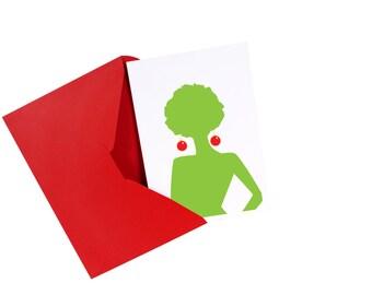 """Supaflarez """"Groovy Little Christmas"""" card set"""