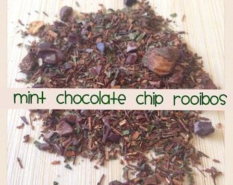 Mint Chocolate Chip - Loose Leaf Rooibos