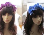 Dahlia Trio Headband - 13 Color Choices!
