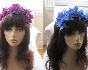 Dahlia Trio Headband - 13 Color Choices!