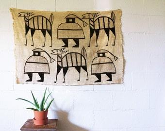 Vintage Wall Hanging | Mud Cloth