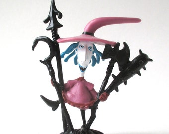 Nightmare Before Christmas Shock Figure, Halloween, Tim Burton, 1993 Vintage, Skellington