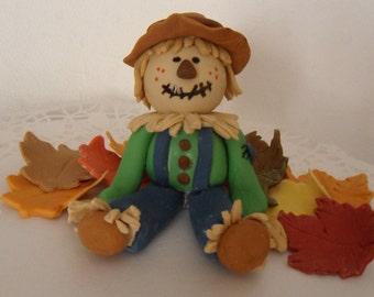 Fondant Scarecrow Cake Topper