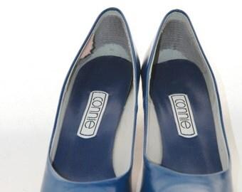 Connie Vintage Blue PumpsShoes Size 7.5