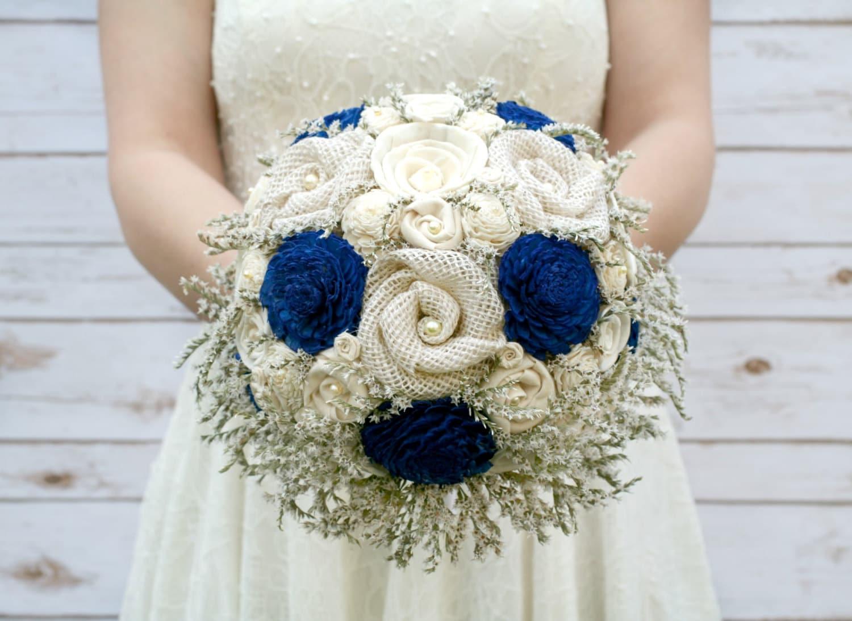 royal blue bridal bouquet royal blue wedding bouquet. Black Bedroom Furniture Sets. Home Design Ideas