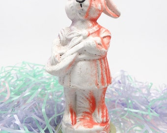 Vintage 1940's German Rabbit Candy Container for Easter