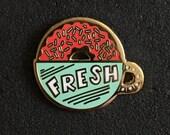 Fresh - Cloisonné Pin