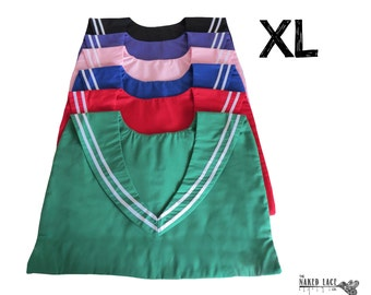 XL ONLY Sailor Collar, Sailor Fuku / Seifuku (制服) Adult Size Japanese School Uniform Collar Only