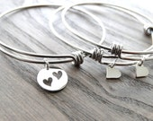 Mother daughter bracelets Mother daughter gift mother daughter jewelry Mom bracelet Mother of the Bride Mothers day from daughter