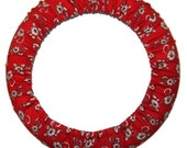 Red Steering Wheel Cover-Car Accessory-Wheel Cover for Car-Accessory for Women