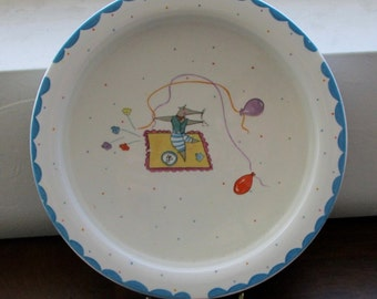 Nice Mice Child's Cereal Bowl, Made in England