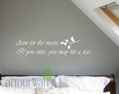 Wall Decal Quote Decals Inspirational Inspiring Life Love Motivational Wall Stickers Removable Vinyl Wall Art Home Decor Living room Bedroom