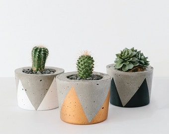 Concrete Planter - Small / Candle Holder