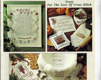 Contest Favorites From The Love of Cross Stitch Counted Cross Stitch Pattern Book Leisure Arts
