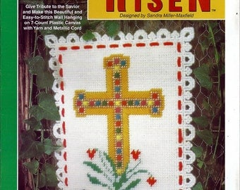 He is Risen Plastic Canvas Collector's Series Pattern The Needlecraft Shop 953342