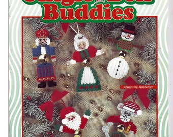 Jingle Bell Buddies Plastic Canvas Pattern House of White Birches 181029