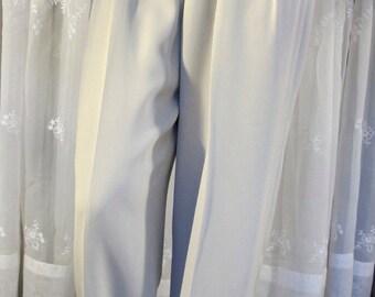 Vintage 90's Rena Rowan bone business pants Size 10