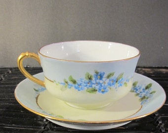 Vintage Haviland cup and saucer