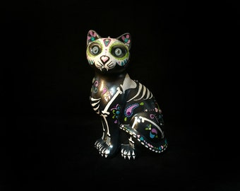 Day of the Dead Feline Cat