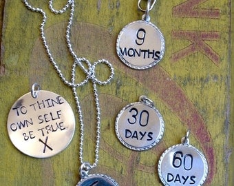 New Sobriety Tokens, Custom Sobriety Jewelry Keychains, 30 60 90 Day Tokens, AA, Alcoholics Anonymous, Sober, gifts, clean and sober