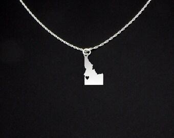 Idaho Necklace - Idaho Jewelry - Idaho Gift