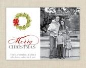 Christmas Photo Card. Merry Christmas