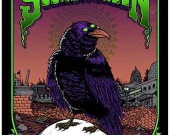 Soundgarden - gigposter - Washington DC - 2013