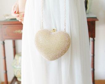 Gold Clutch Bag - Bridal Clutch Bag - Wedding Clutch Purse