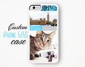 Custom iPhone Case / Custom iPhone 5 Case / Custom iPhone 5S Case /  Make Your Own Personalized iPhone 5 Case Silicone Case iPhone 5s Custom
