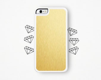 Gold iPhone Case / Metallic Gold iPhone 4 Case Gold iPhone 5 Case Gold iPhone 5 Case Metallic iPhone 5C Case