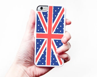 Union Jack iPhone Case - British Flag iPhone 5C Case Union Jack iPhone 6S Case London iPhone 6 Case iPhone 5S Case UK iPhone 5 Case 6S Plus