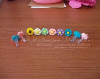 Flower and Candy Anti-Dust Plug for cell phone 3.5mm