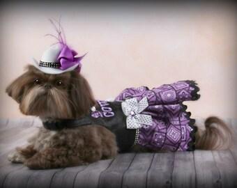 HALLOWEEN:  Cowgirl Cute DOG DRESS