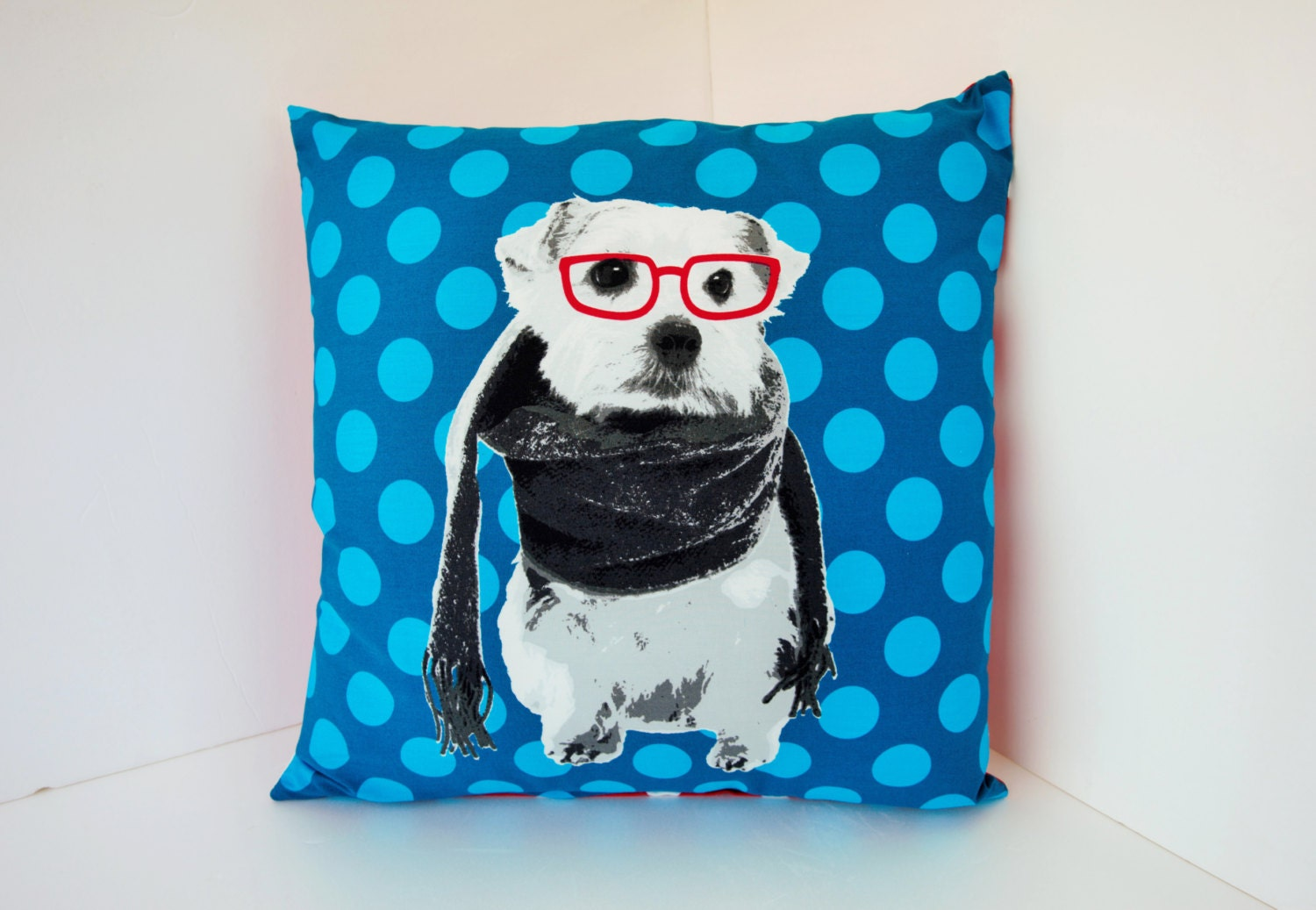 Decorative Pillow With Dog : Dog pillow case sofa bedding pillow throw decorative pillow