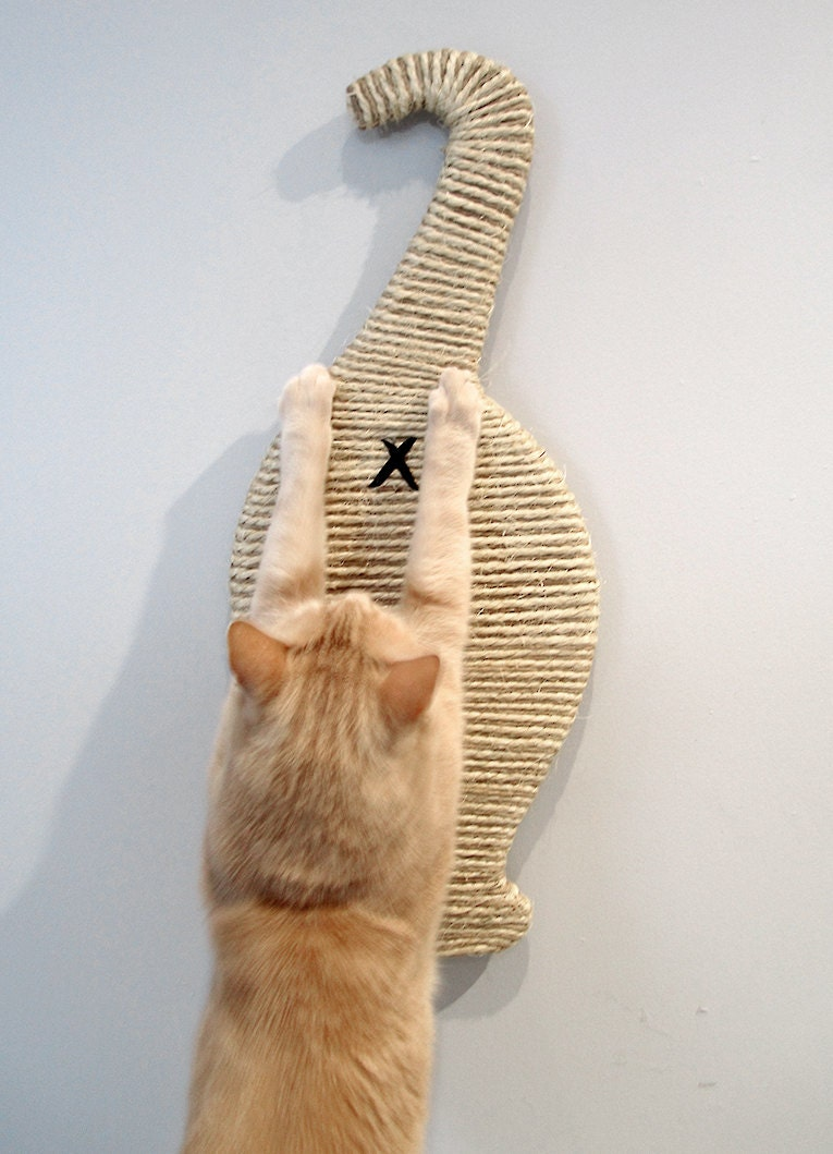 Scratch My Butt Cat Butt Scratcher Wall Mounted Super Space