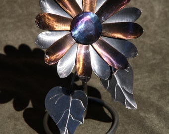 Mini Metal Sunflower