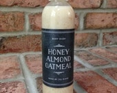 Natural Body Wash - Honey Almond Oatmeal