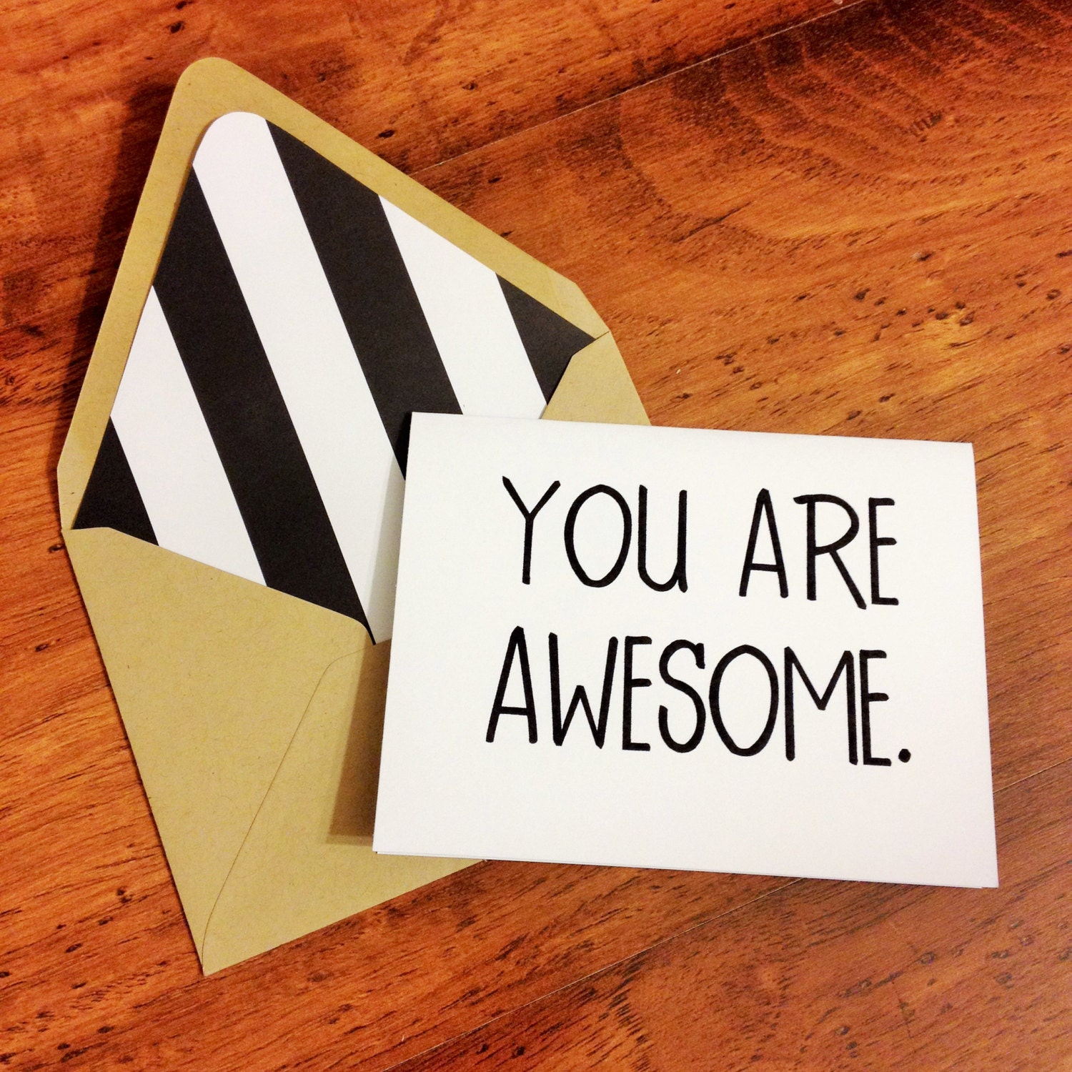 You Are Awesome: You Are Awesome Card // Celebration Card // Congratulations