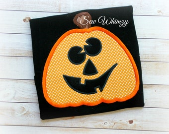 Pumpkin shirt or one piece bodysuit- Halloween shirt- jack o lantern shirt