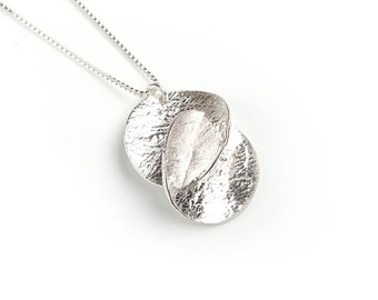 Handmade sterling silver harmony necklace