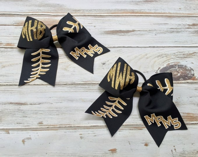 Hair Bows, Cheer Bows, Softball Bows, Monogrammed Cheer Bows, Custom Cheer bow, Cheer Bows, Custom logo cheer bows, TEAM DISCOUNTS