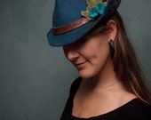 fairy fedora hat woman's - made to order