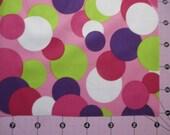 "18x20"" Diaper Cut Pink Dot Waterproof PUL fabric"