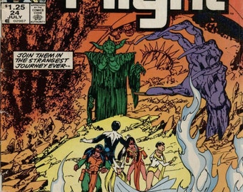 Alpha Flight Comic #24